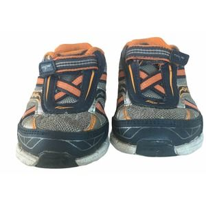 Saucony Baby Ride 7 Sneakers Grey Orange Sz 5.5 XW
